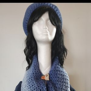 Handmade Chochet hat,scarf set
